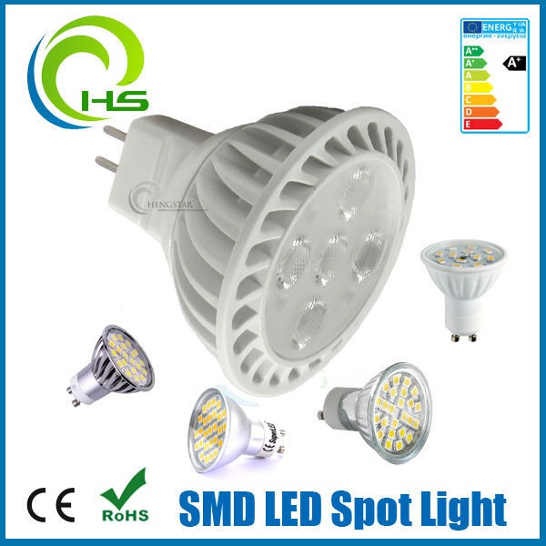 gu10 mr16 2835 smd ul led bulb dimmable 38degree led high brightness bulb, 2014 new arrival plastic 2835 smd ul led bulb