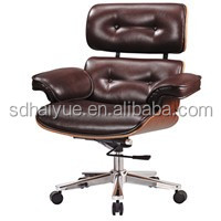 High Quality High Back Office Emes Lounge Chair Big Boss Leather Office Chair