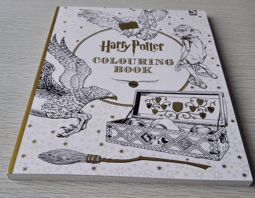 Harry Potter Coloring Book Paper Roll Design Your Own Printing