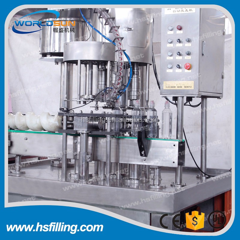Automatic Plastic Bottle Capper Machine