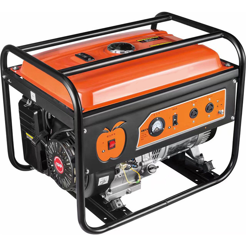 Hot sale electric start portable mini air-cooled four strokes gasoline generators