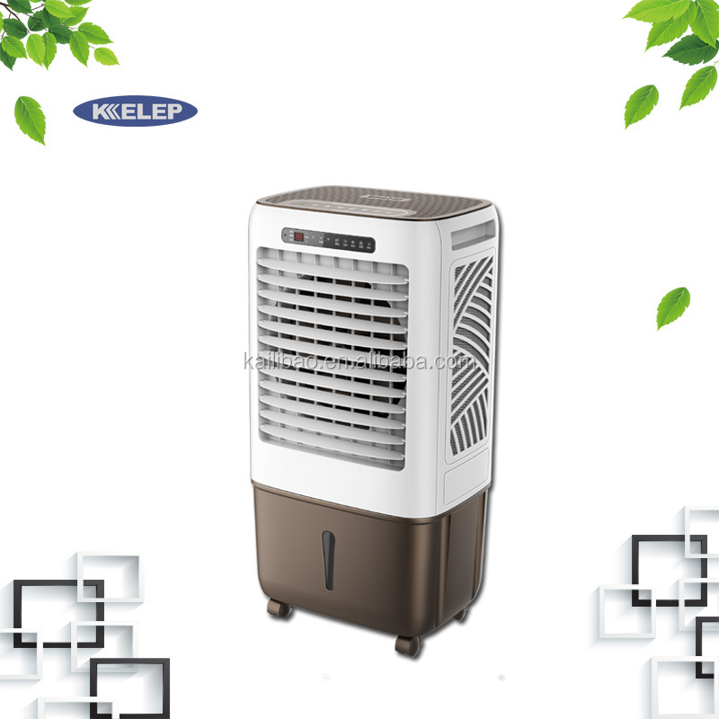 120W low power consumption 3000m3/h stand <strong>air</strong> cooler fan for room