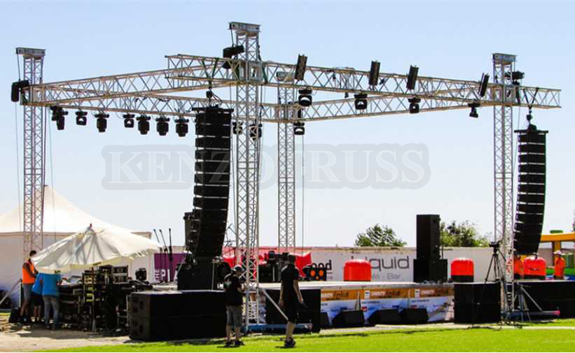 Outdoor used aluminum truss  DJ booth truss Event stage scene