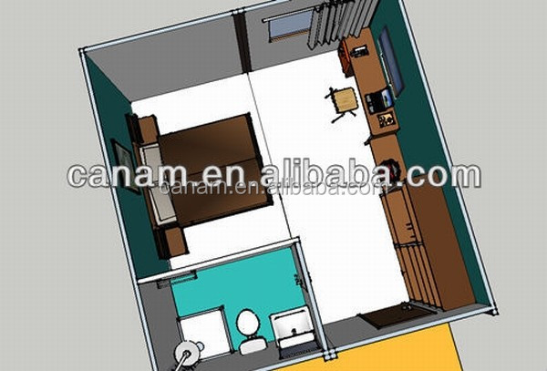 Ecological New Design Prefab House/Solar Container Home