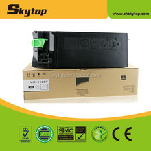 China Factory new compatible toner MX312 for Sharp MX311 copier parts cartridge