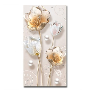 Hot Selling Christmas Flower Drilling DIY 5D Diamond Painting Embroidered Wall Decor Art