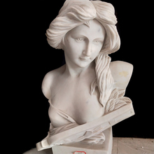 <span class=keywords><strong>Scultura</strong></span> di pietra di marmo bianco sexy lady donna busto <span class=keywords><strong>scultura</strong></span>