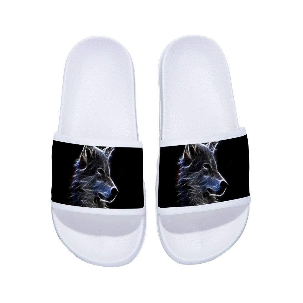 Tribal wolf face Slipper Unisex Indoor Slippers Summer Anti-Slip Sandal Boys Girl Slipper