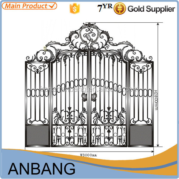 2015 Alibaba Express Indian House Main Gate Designs