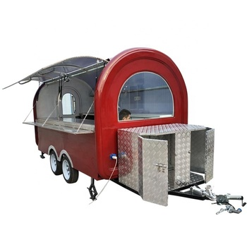 Hot Selling Fast Street Vending Carts Mobile China Food Trailer for sale