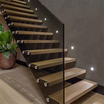 Moderne Escaliers Pour Les Maisons En Bois D\'acacia Marches D\'escalier Pvc  Balustrade Pr-b60 - Buy Balustrade En Pvc,Marches D\'escalier En Bois ...