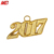 Gold Graduation Tassels Decoration Year Charms