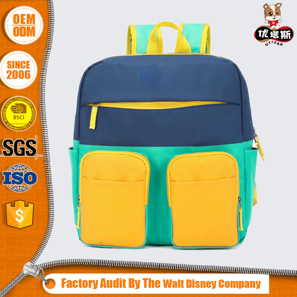 childrens square 600d school bag backpack manufacturer
