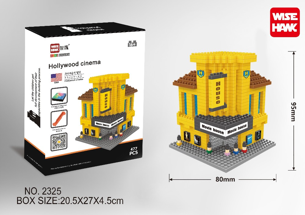 Wisehawk Famous World Architecture Building Block Hollywood Movie ...