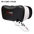 2016 Professional VR CASE 5Plus 3D Glasses Virtual Reality Gogle cardboard 3D Video for 3 5