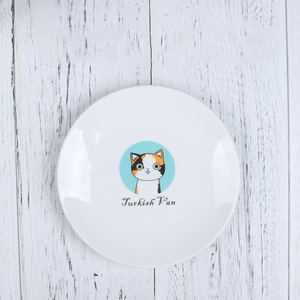 Ceramic cartoon fruit dish plate porcelain plates custom logo