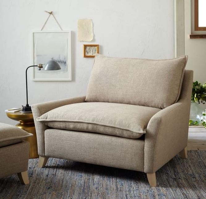 Italian design single seater sofa chairliving room furniture sofa fabric sofa
