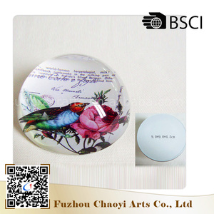 Top selling Wholesale Beautiful crystal New desig glass paperweight flower