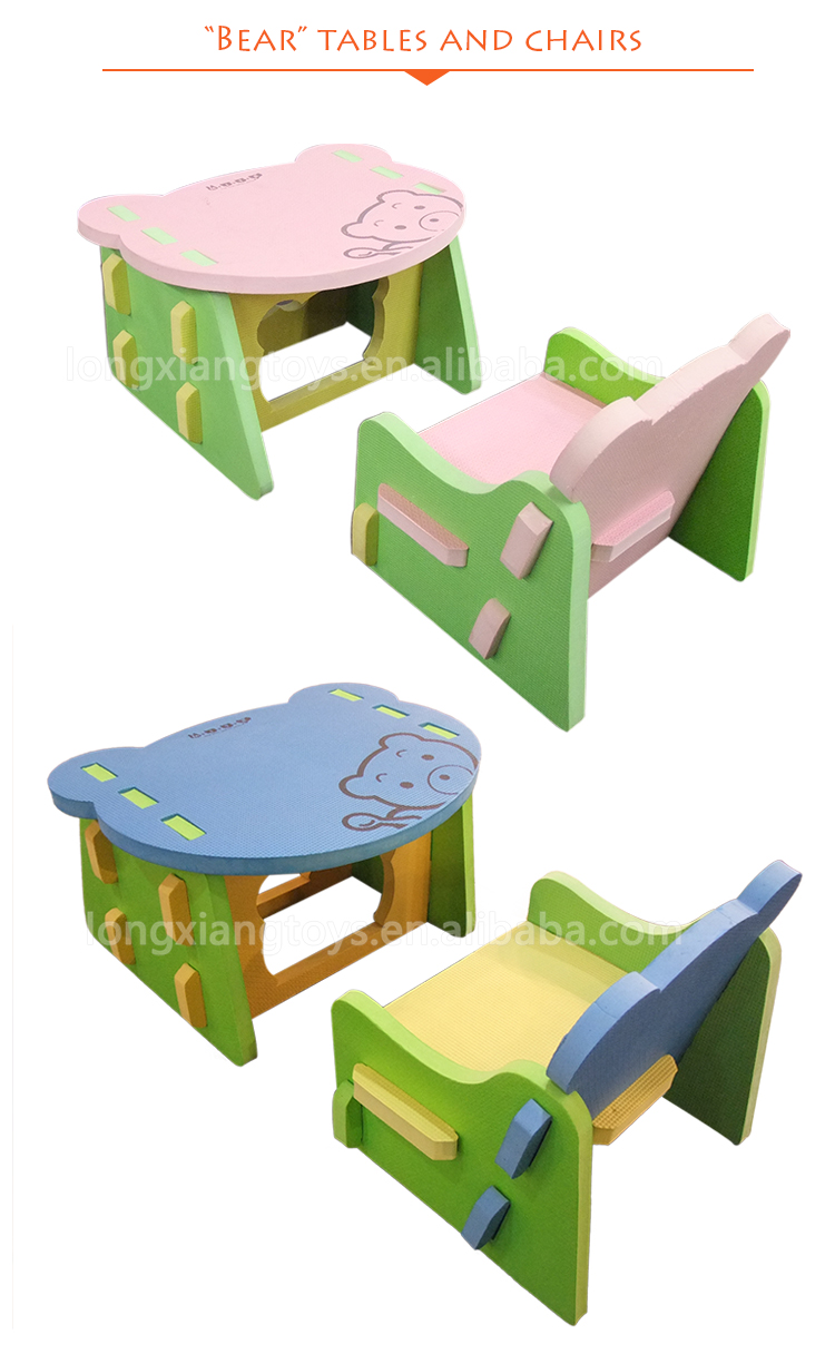 EVA Foam Children Study soft foam baby chair on sale
