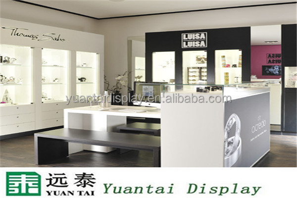 2016 new product luxury jewellery shop furniture design