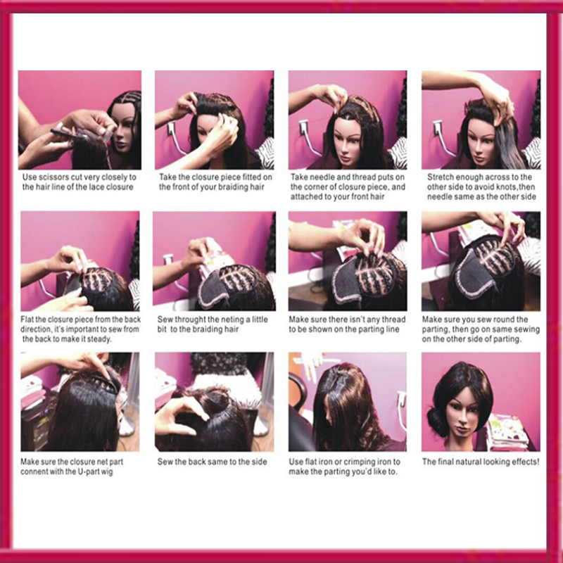 How To Braid Hair For Lace Front Closure New Hair Style