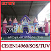 commercial grade customized inflatable princess bouncy castle for kids