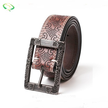 Customized design fashion casual Italian leather women dress belt for sale