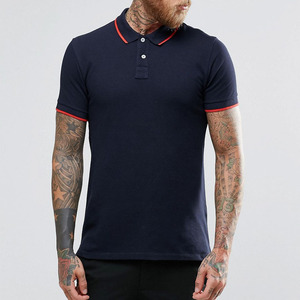 Clothing Factory Blank T Shirt China Wholesale Men's Brand Polo Shirt Polo Collar Embroidered Polo Shirt Wholesale