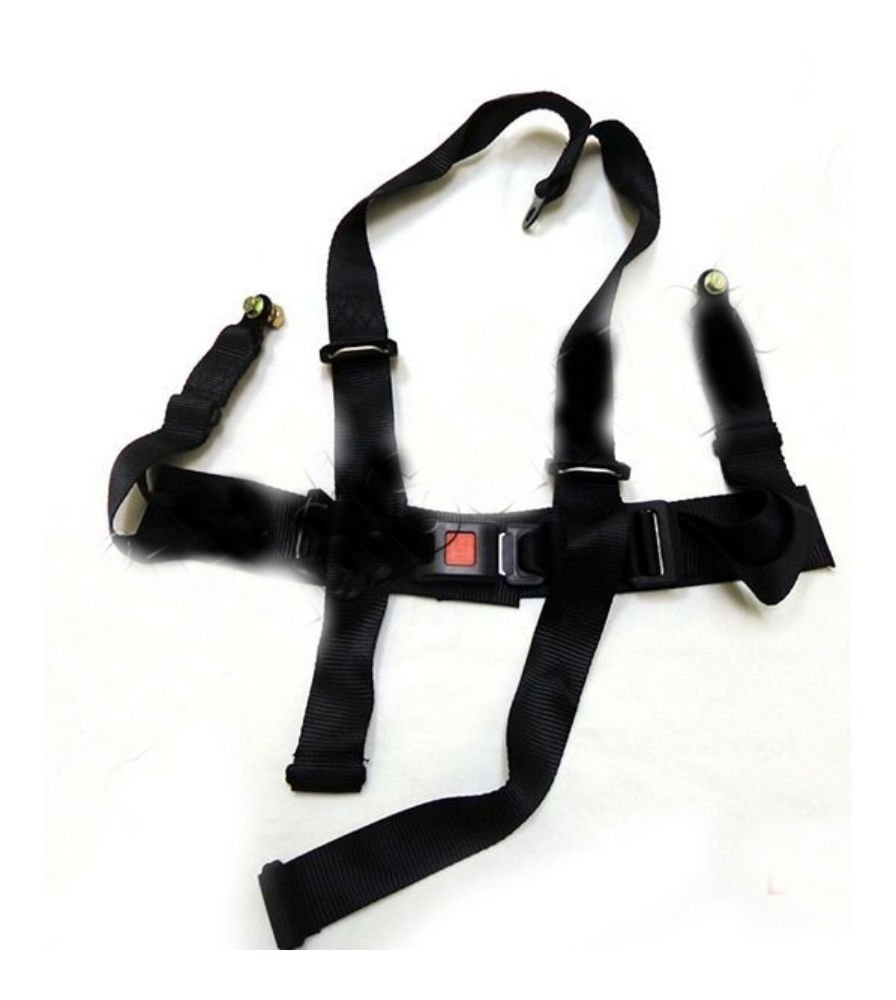 Buy 4 Wheeler Go Kart Seat Belt Safety Harness 50cc 110cc 150cc Kit Point Saftey Utv Buggie Single Taotao Sunl