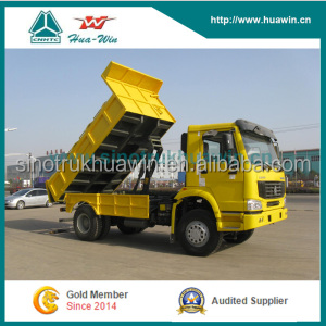 SINOTRUK HOWO 4x2 Small Garbage Dump Truck for sale