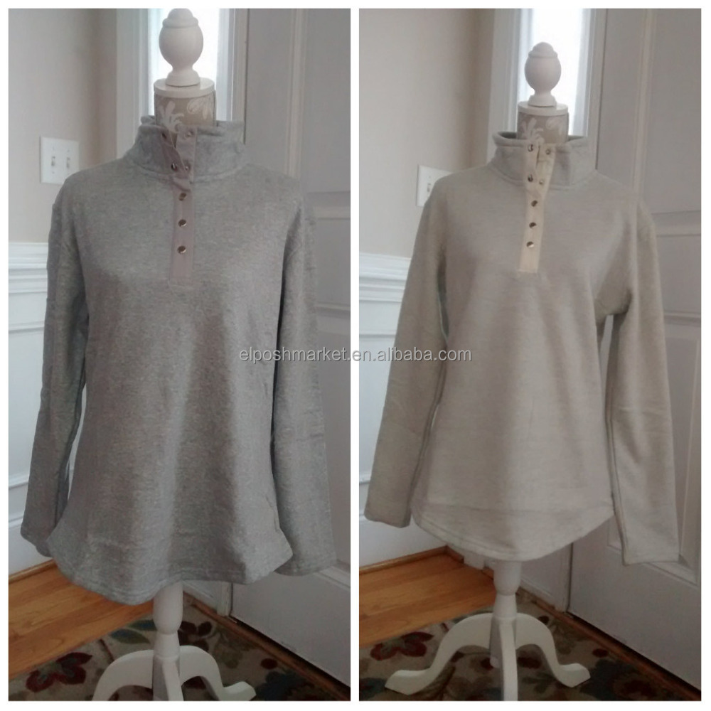 Wholesale Monogrammed Heathered Pullover