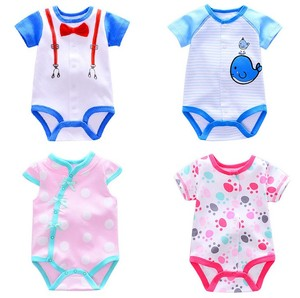 100% cotton hot sell infant toddlers clothing baby romper