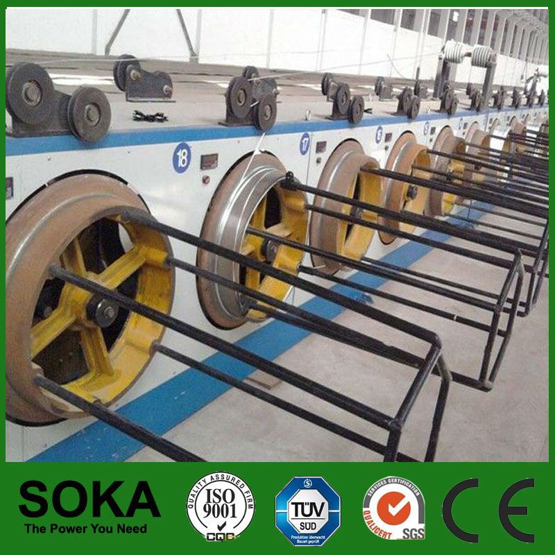 2013 Hot sale galvanizing wire production line