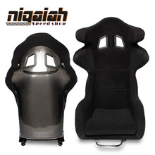 Hot Selling Design Carbon fiber Racing style Universal Luxury Bucket Car seat--RAT