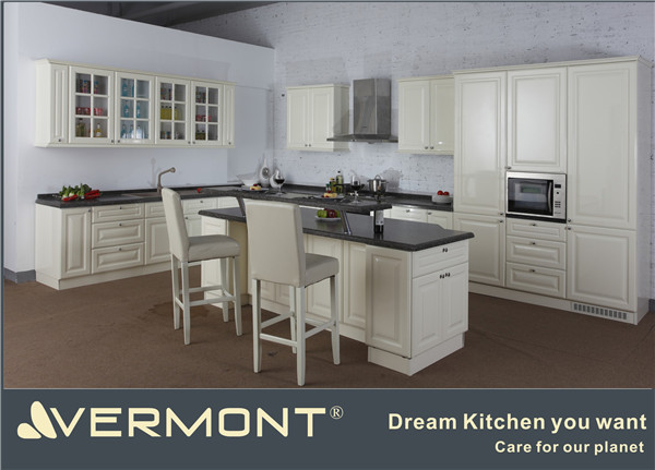 2018 vermont new customized project kitchen cupboard buy for Cream kitchen carcasses