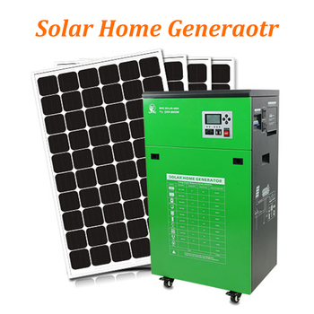 Hydrogen Diesel Hybrid System With Capacity 1000w Power Home Use Solar Generator For Homes
