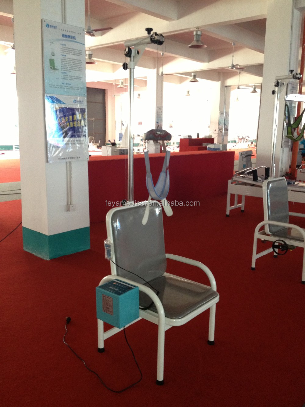 Fy Yz 4 Silla De Tracci N Cervical Fisioterapia Dispositivo De  # Muebles Fisioterapia