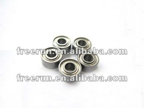 Miniature Inch ball bearings Chrome steel abec-1,3,5,7 Metal Shielded 0.055x3/16x7/64 R1ZZ bearing