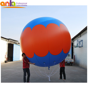 Colorful china birthday party items large custom led-light inflatable party balloons