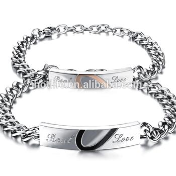 Chaîne En Argent Buy Bijoux Mode Main bracelet Vente Argent Couple De Meilleure Conception SzVMjqpLUG