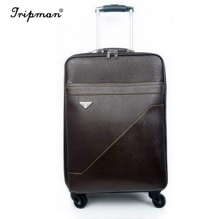 Cathylin 2016 hand decent characters travel trolley used hotel luggage carry on suitcase luggage