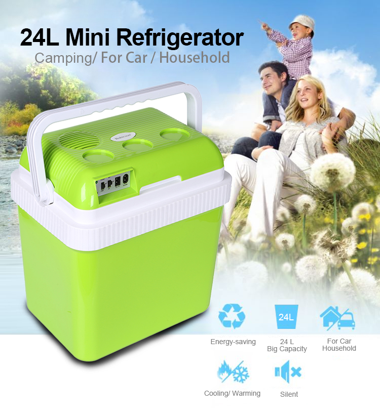 The new model for 24L12V-230V popular cooler and warmer camping outdoor cooler box