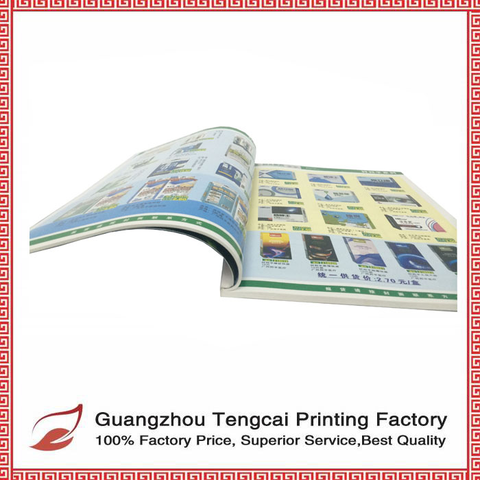 Top Quality Cheap all size Brochure Printing book printing service in China
