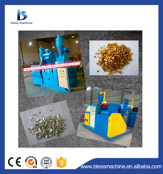 Best Choice!!! Recycling rate can reached 99.99% electric cable wire stripping machine