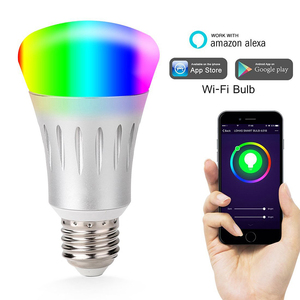 Latest product china suppliers 7w wifi control smart led bulb