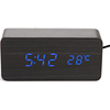 Digital Table Desk LED Wood Clock with Calendar