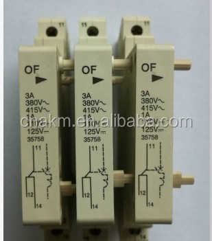 OF Auxiliary switch DZ47(C45) mini circuit breaker accessories Auxiliary contact