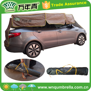 Portable with carry bag easy to carry anti uv folding car shelter