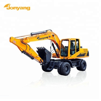 Cheap heavy duty wheeled 15 ton excavator for sale
