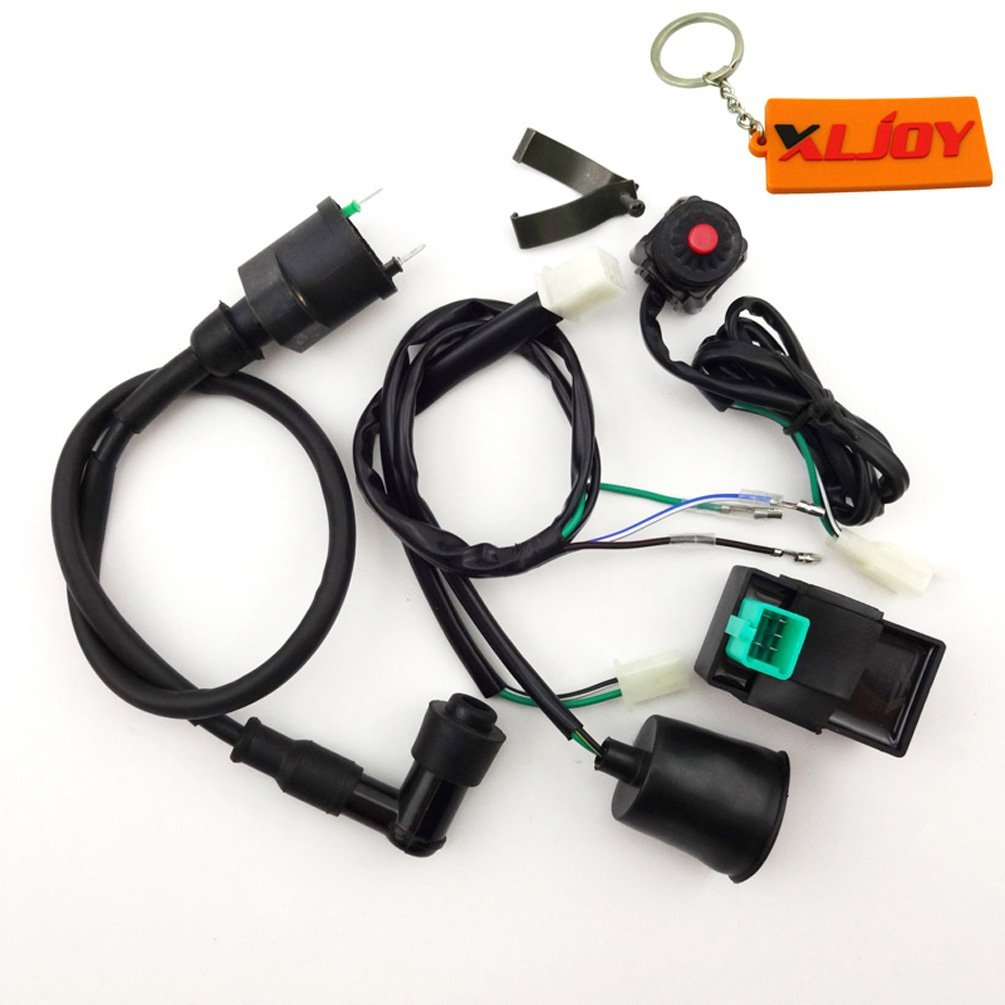 Cheap Ignition Coil Wiring Harness Find Pit Bike Kit Cdi Killswitch Loom Electrics Get Quotations Xljoy Kill Switch For 50cc 160cc Dirt